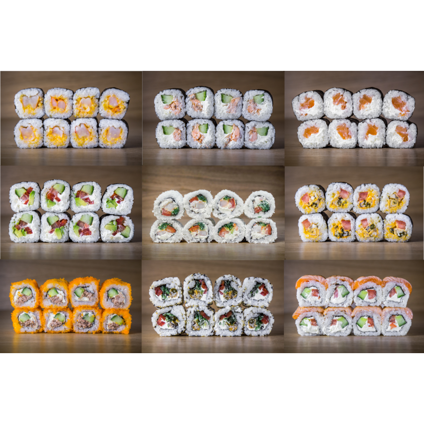 Suši komplekts Mix H72