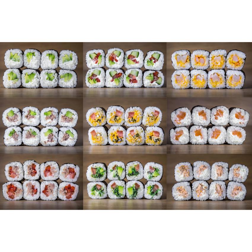 Suši komplekts Mix 72