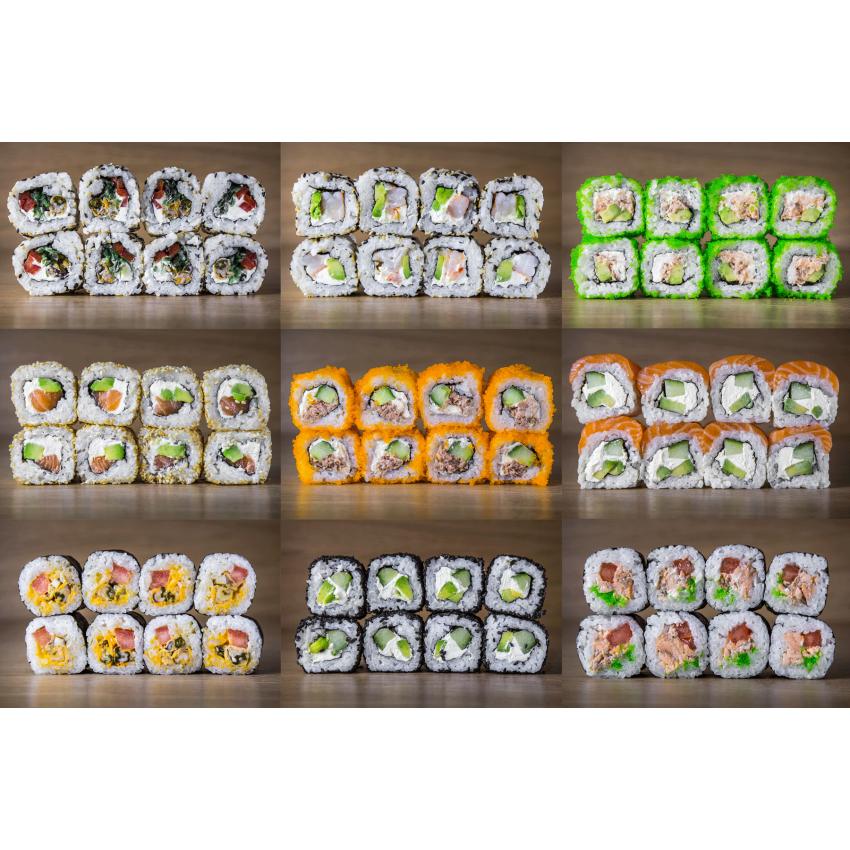 Suši komplekts Mix C72