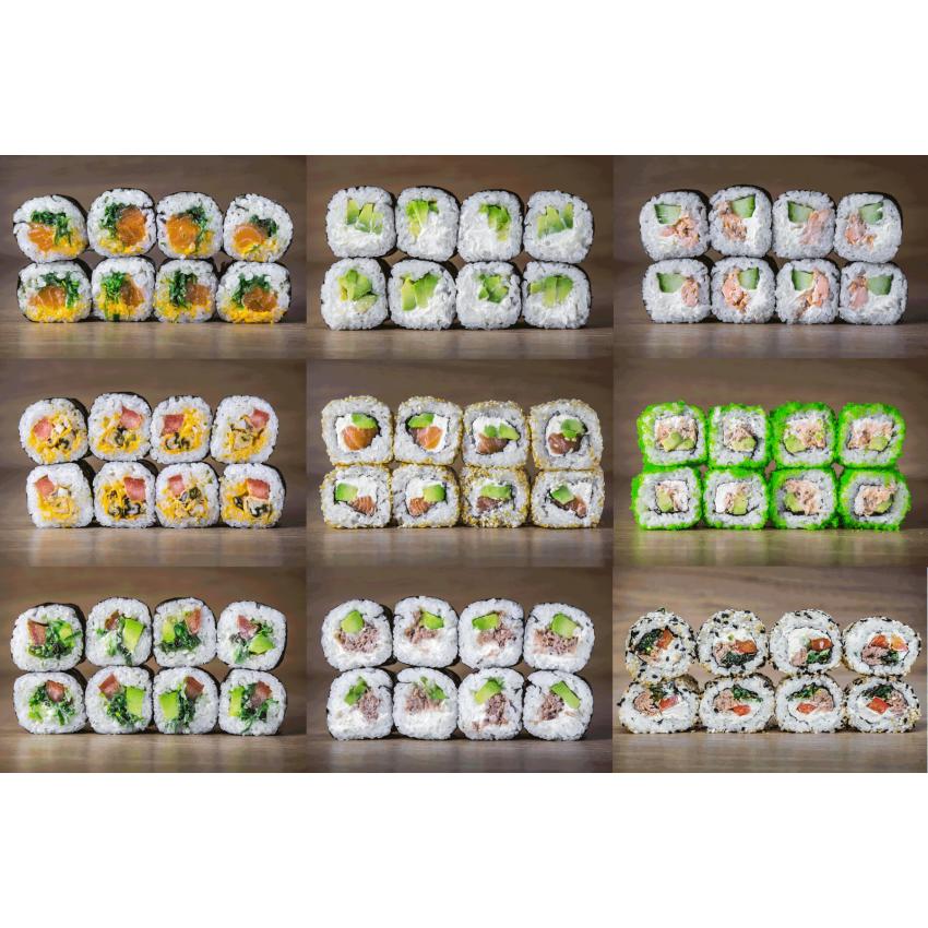 Suši komplekts Mix E72