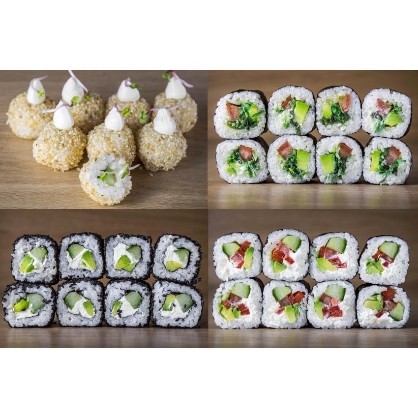 Suši komplekts Vegetarian Mix 32